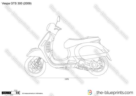 DXF Plans Downloads Vespa car t Vespa Stencils and