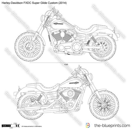 Harley Davidson Motorcycle Engine Blueprints Triumph