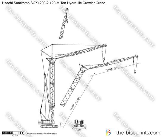 Hitachi Sumitomo SCX1200-2 120-M Ton Hydraulic Crawler