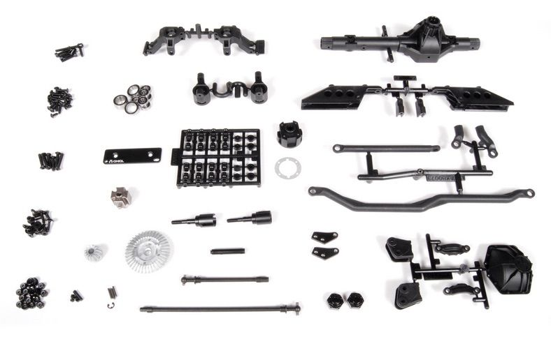 Axial AR60 OCP Front Axle Set (Complete) AX30831 :: Axial