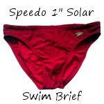 Speedo's Solar 1″ Brief Review
