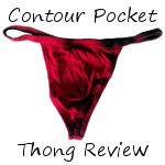 Undergear Contour Pocket Thong