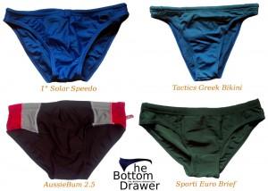 Summer of 2014 swim briefs