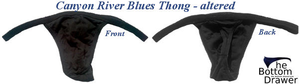 Altered Canyon River Blues Thong