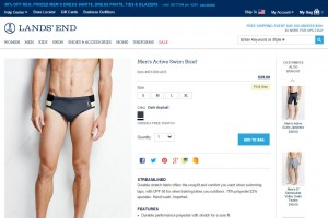 Lands' End Swim Brief