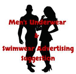 Men's Underwear Swimwear Advertising Suggestion