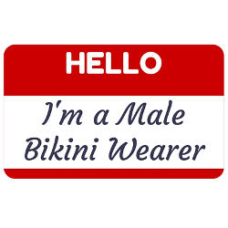 I'm a Male Bikini Wearer
