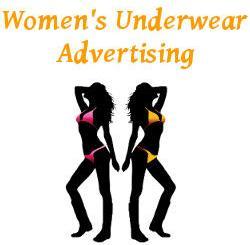 Womens Underwear Advertising
