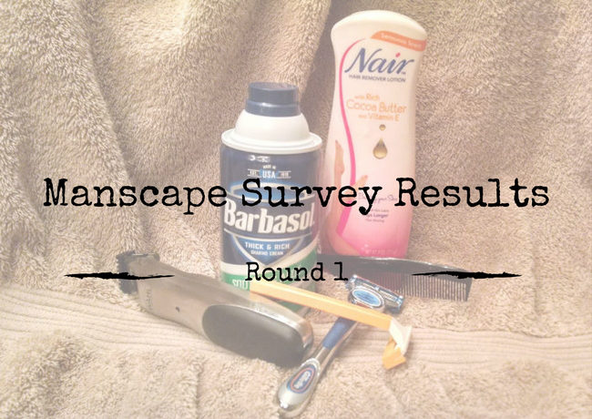 Manscape Survey Results Round 1