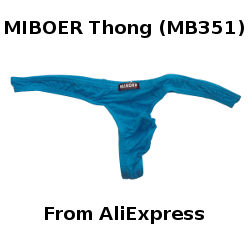 Review: AliExpress MIBOER Thong (MB351)