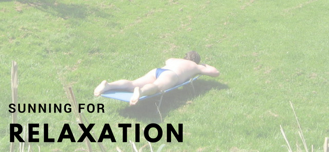Sunning For Relaxation: Swim Brief and Thongs