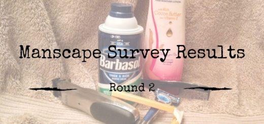 Manscape Survey Results Round 2