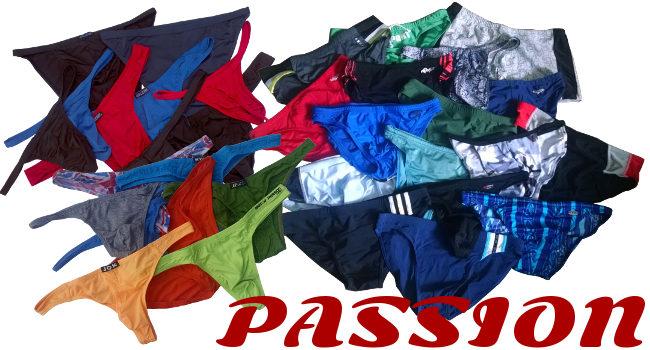 Men's Underwear and Swimwear Passion: Bikinis and Thongs