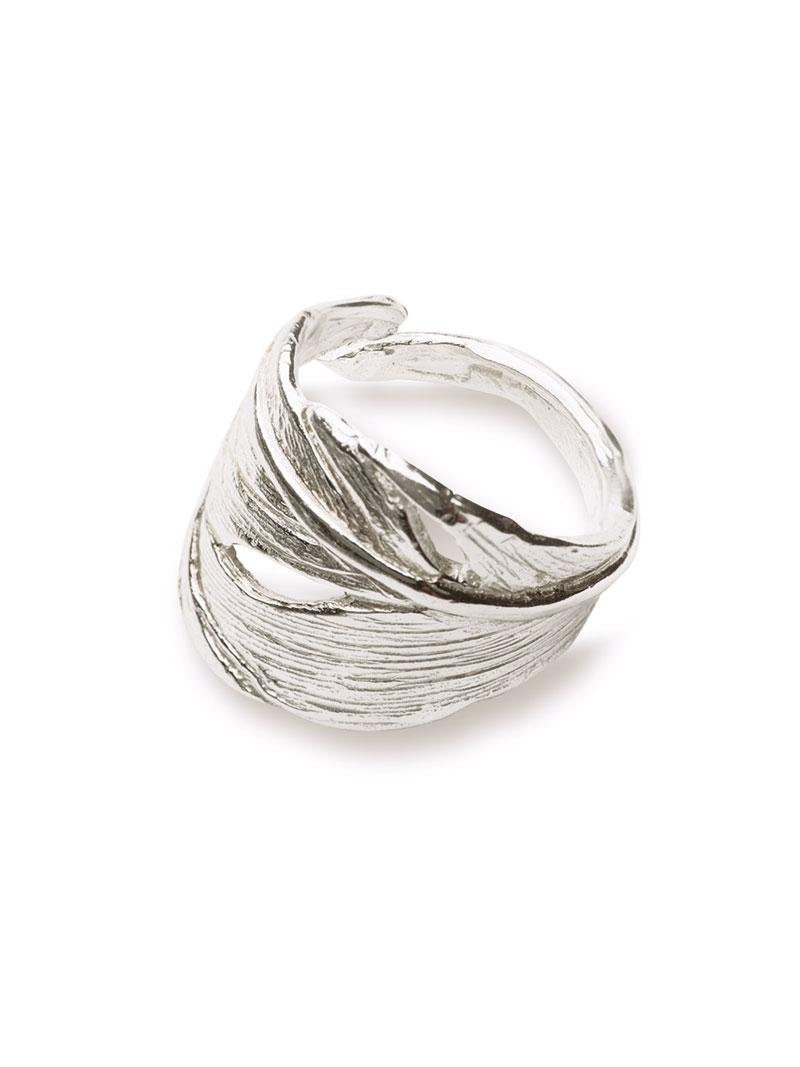Ring Swan Feather von Chupi  Accessoires  Schmuck Damen