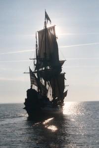 The Kalmary Nyckel sailing south on the Potomac River. THE CHESAPEAKE TODAY photos