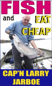 Fish and Eat Cheap available in Kindle, paperback & Audible