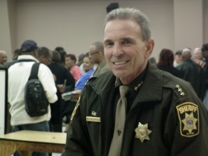 Charles County Sheriff Rex Coffey. The CHESAPEAKE TODAY photo