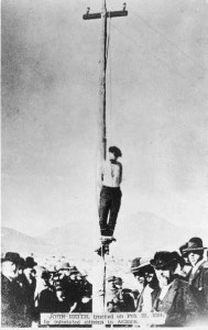Not only blacks were lynched. John Heith was lynched by a mob on Feb. 22, 1884 in Arizona.