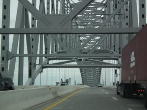 Francis Scott Key Bridge at Baltimore is one of Maryland's most impressive bridges.
