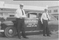 Ocean City Maryland Police vintage patrol car