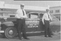 Ocean City Maryland Police vintage patrol car
