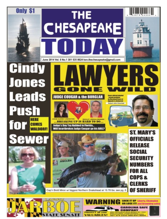 Now available on newsstands in Charles, Prince Georges, Anne Arundel, Calvert, Kent and St. Mary's Counties