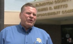Lexington County SC Sheriff James Metts