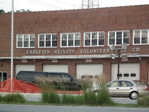 Earleigh Heights VFD Anne Arundel County firehouse. THE CHESAPEAKE TODAY photo