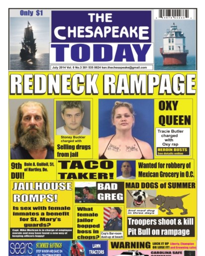 The Chesapeake Today front page promo July 2014