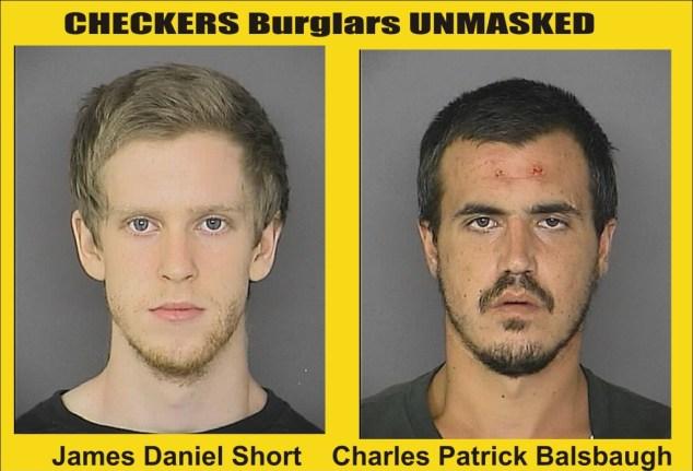 Checkers burglars unmasked