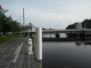 Pocomoke River as it flows through Pocomoke City is one of the rivers cited by the Board of Public Works that will benefit from the purchase of development rights from large tracts of land which likely would have never been developed. THE CHESAPEAKE TODAY photo