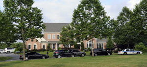 Police and FBI raid home of Jeffrey Cohen. Photo courtesy of The Baltimore Sun.