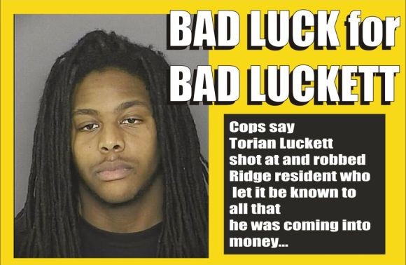 Bad Luck for Bad Luckett