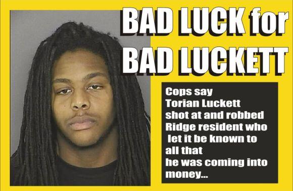 Bad Luck for Bad Luckett