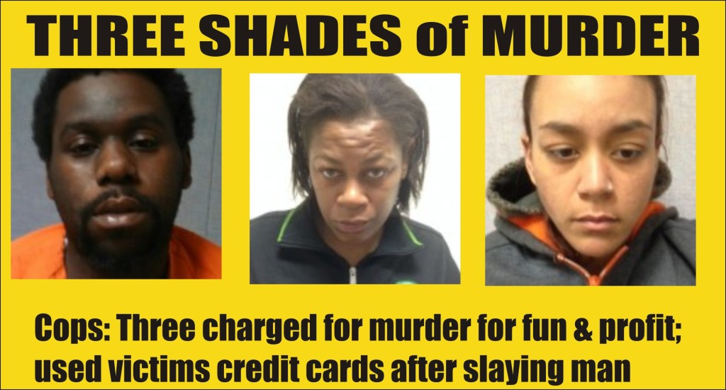 Three Shades of Murder