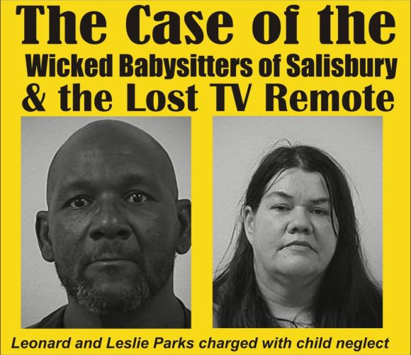 the Case of the Wicked Babysitters of Salisbury