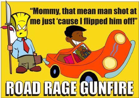 Road Rage Gunfire in Loudoun