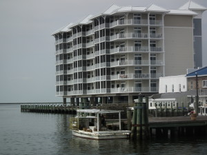 Crisfield condos and crabbers. THE CHESAPEAKE TODAY photo