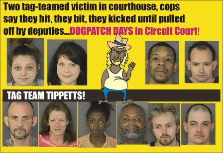 St Marys Sheriff arrests for March 27 2015