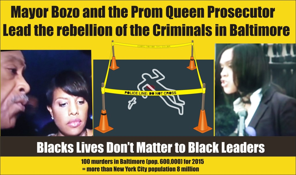 Black lives don't matter to black leaders