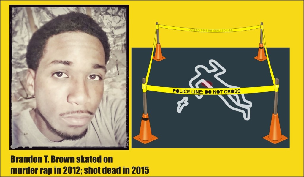Brandon Brown shot dead in Frederick Md