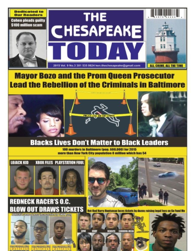 The Chesapeake Today June front page