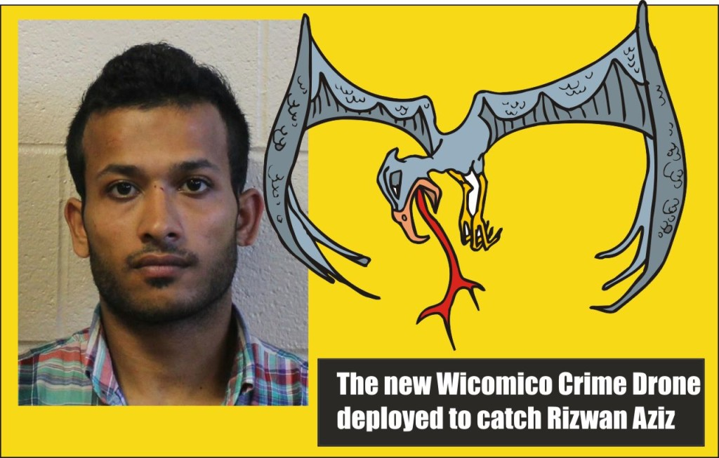 Aziz and the Wicomico Crime Drone