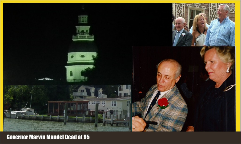 Governor Marvin Mandel dead at 95