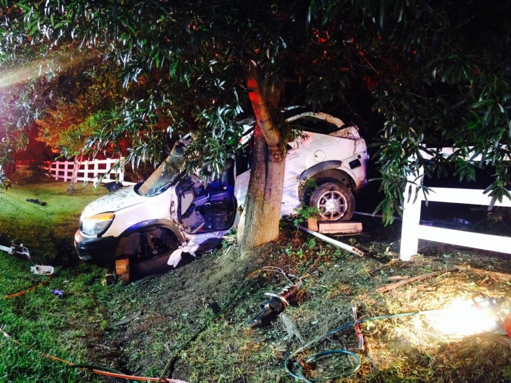 Lothian crash Aug 10 2015 Anne Arundel County FD