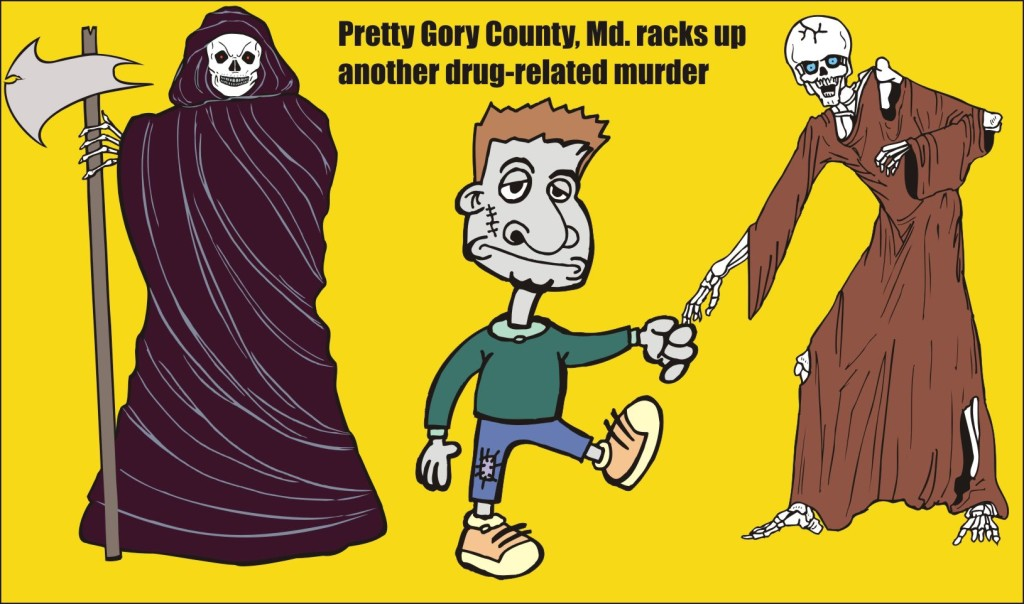 Pretty Gory County Md racks up another drug related murder