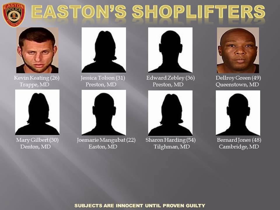 Easton's Shoplifters for Oct 2, 2015