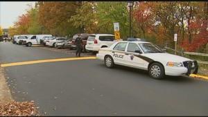 Murder scene in Montgomery Village photo Fox5DC