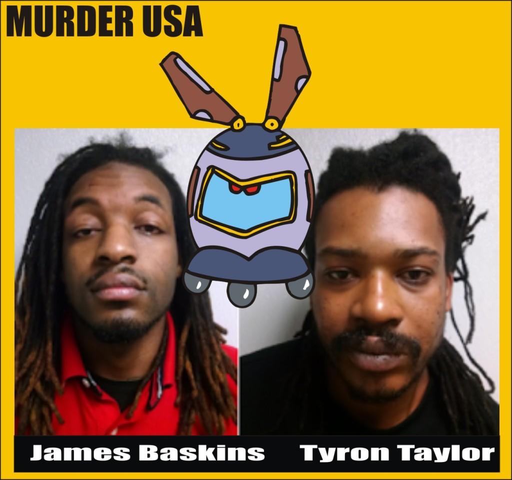 Baskins & Taylor murder arrest  010316 Larry Ellis jr