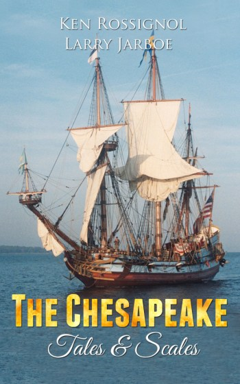The Chesapeake Tales & Scales in Kindle, paperback and Audible